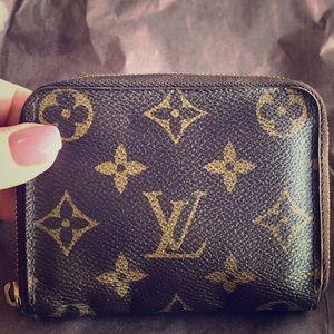 Authentic Louis Vuitton mini wallet